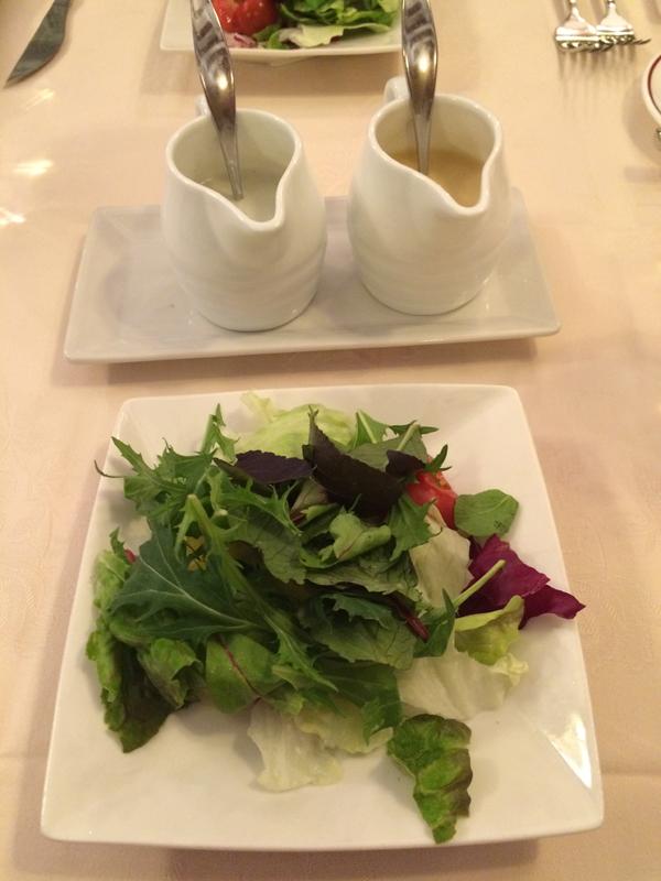 炭焼ステーキ[葡萄屋]吉祥寺のサラダ