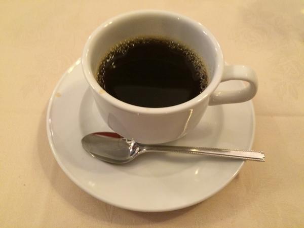 炭焼ステーキ[葡萄屋]吉祥寺の食後のコーヒー