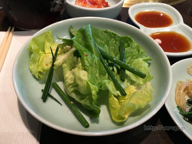 壱語屋 たまプラーザ店 ランチセットのサラダ