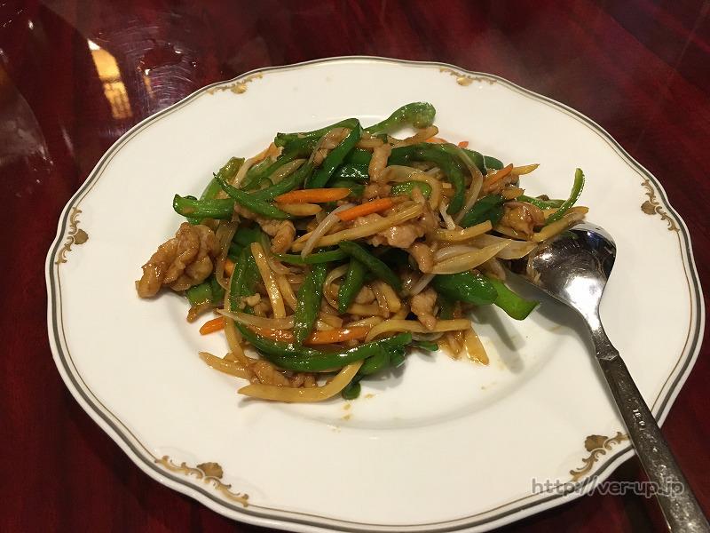 五反田食坊の青椒肉絲