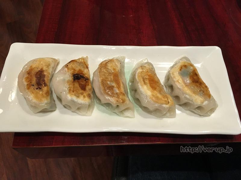 五反田食坊の焼き餃子