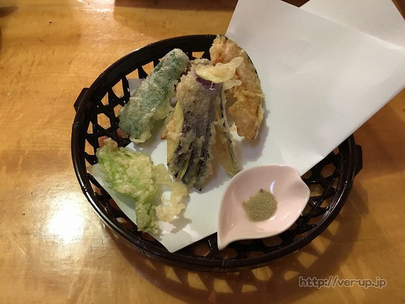 草津温泉 やまもとの野菜の天ぷら