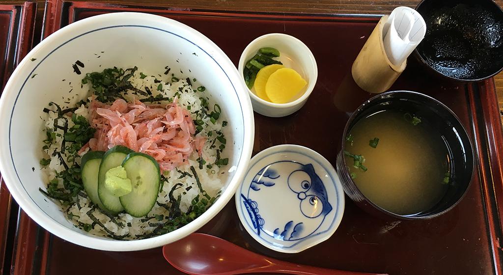生桜えび丼セット