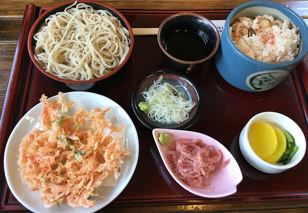 桜えび茶屋定食