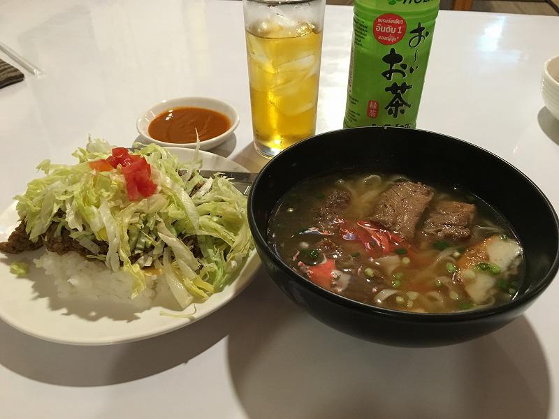 バンコクの沖縄料理 金城