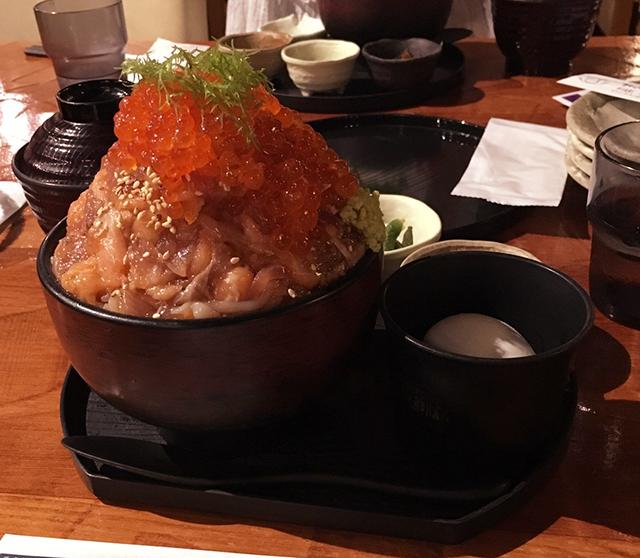伊豆高原ビール 漁師の漬け丼膳